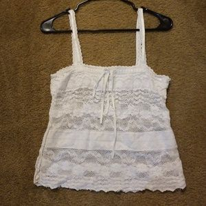 American Eagle Lacey top
